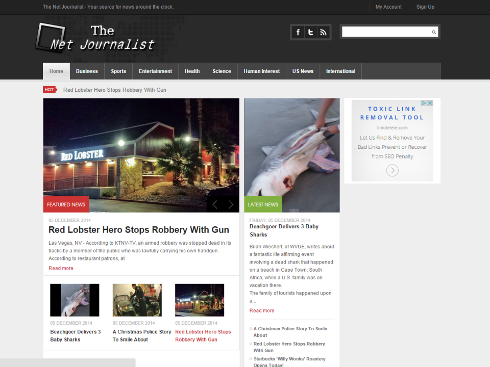 The Net Journalist Home Page